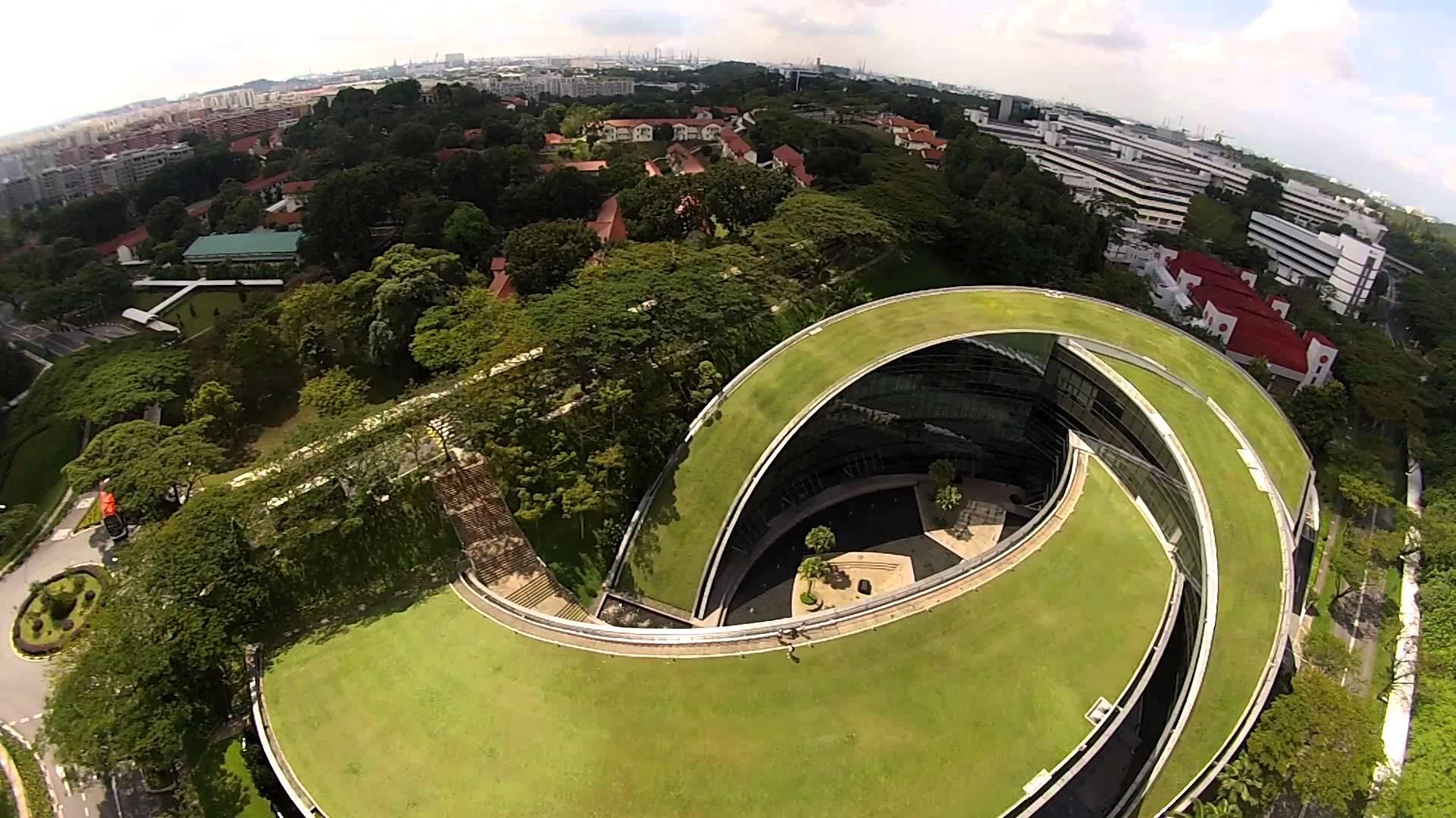 Khuôn viên trường Đại học Công nghệ Nanyang