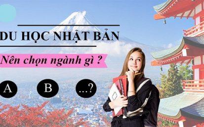 du học Nhật bản chọn ngành gì